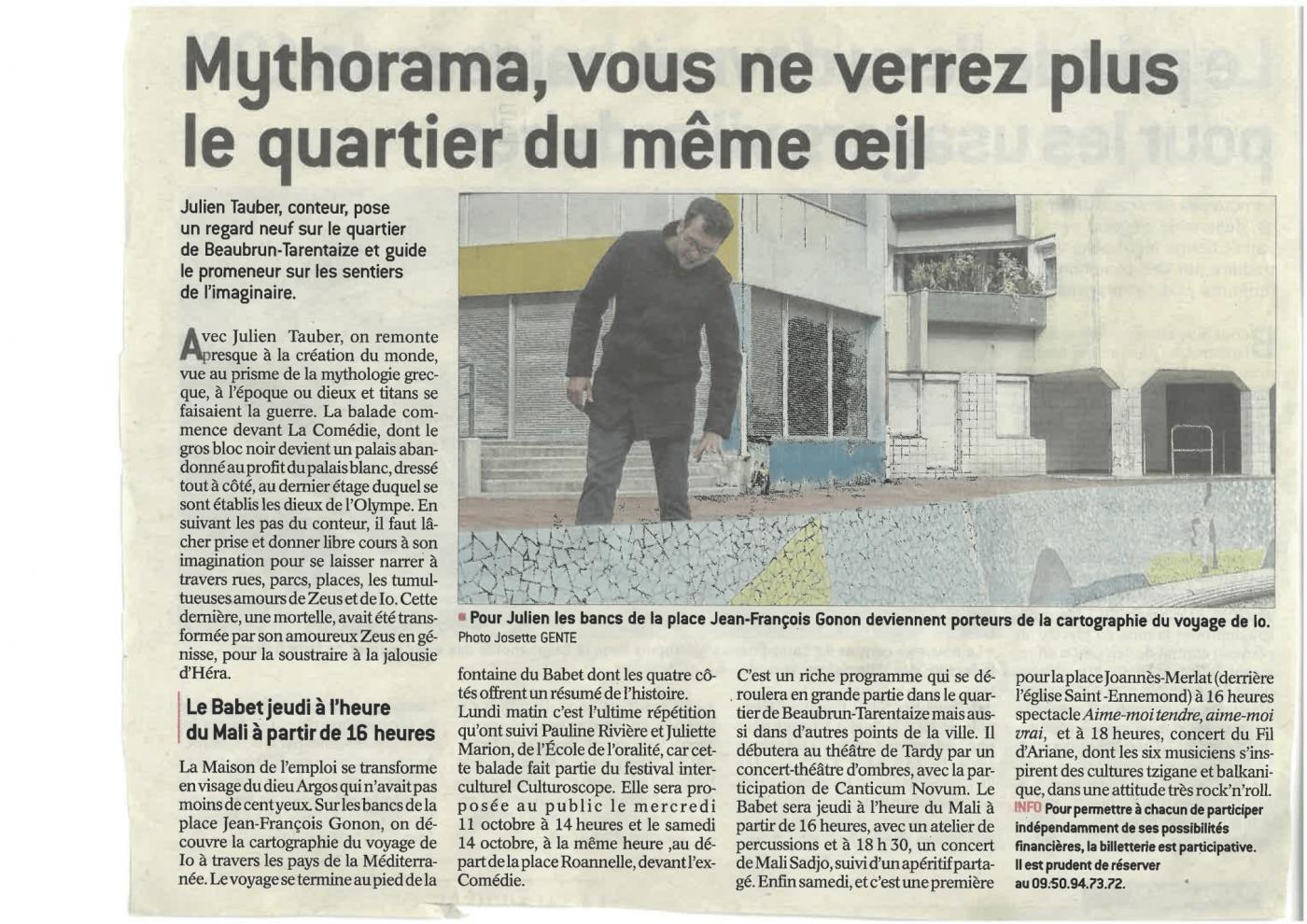article : Mythorama, vous ne verrez plus le quartier du même œil